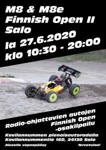 M8 & M8e Finnish Open II Salo @ Kavilannummen pienoisautorata